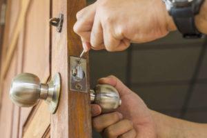 change door locks